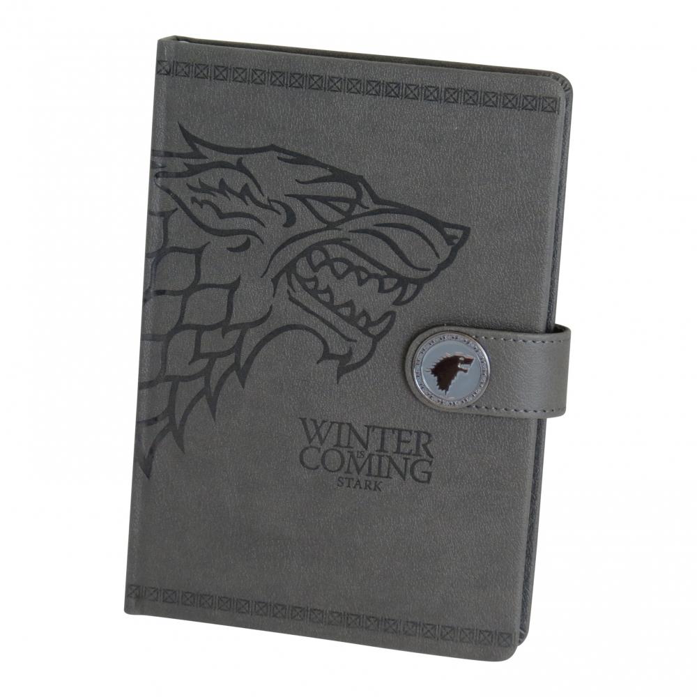 Libreta premium Juego de Tronos A5 logo Targaryen