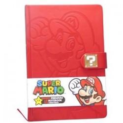 Libreta premium Super Mario Nintendo A5