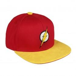 GorraThe Flash logo 3D  visera plana premium