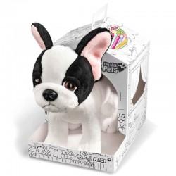 Peluche Perro My Nici Pets 22cm en caja para colorear