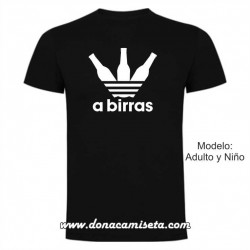Camiseta a Birras botellas