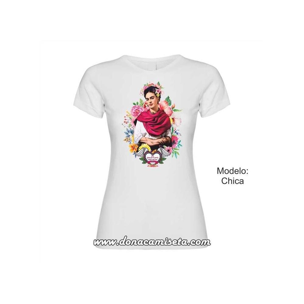 Camiseta Frida pies para que los quiero