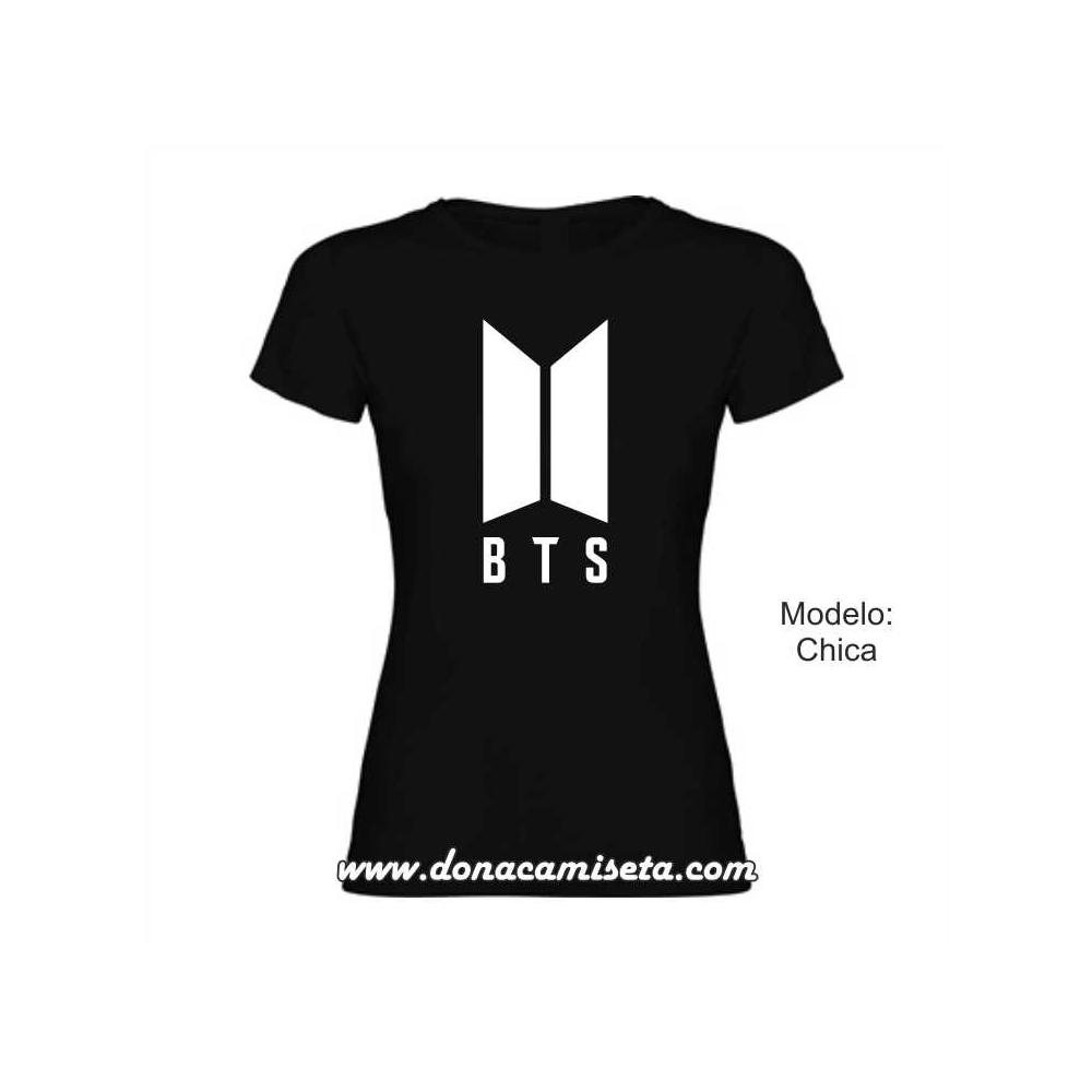 Camiseta BTS logo