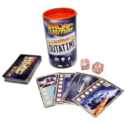 Juego de Cartas y dados Back to the Future outatime