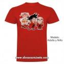 """Camiseta """"Digan o que digan os pelos do cu abrighan"""" Goku"""
