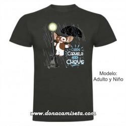 Camiseta Corre Carmela que Chove