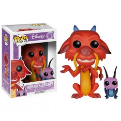 Figura Funko Pop Disney Mulan 166