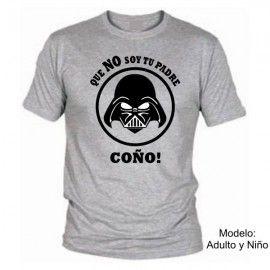 Camiseta Darth Vader NO soy tu padre