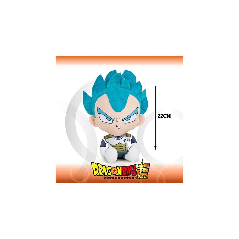 Peluche Vegeta Super Saiyan God Dragon Ball Super 22cm