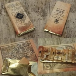 Chocolatina Friki Maraurder´s Bar Special dorado