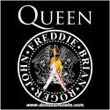 Camiseta Queen logo circular