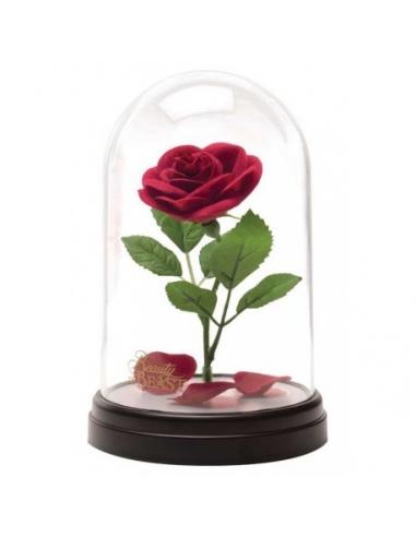 Lámpara Rosa Encantada Bella y Bestia Disney