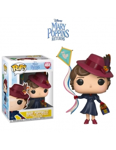 Figura Funko Pop Mary Poppins 467 Disney