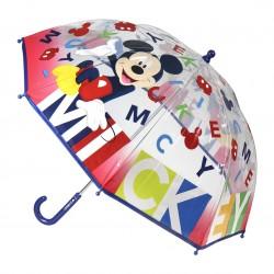Paraguas burbuja Mickey Mouse Disney letras 45cm