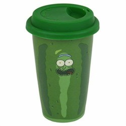 Taza VIAJE Rick and Morty Rick Pickle Rick