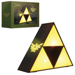 Lámpara Triforce Legend of Zelda 20cm
