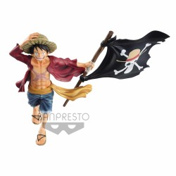 Figura One Piece Monkey D. Luffy Magazine 22cm