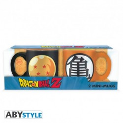 Pack de 2 Taza expresso  Dragón Ball Z  110 ml