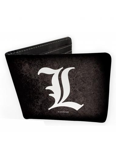 Cartera billetero Death Note logo L