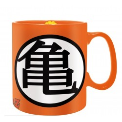 Taza Dragon Ball logo Kame