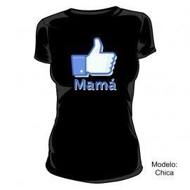 Camiseta MC Me Gusta Mamá