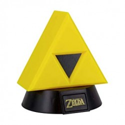 Lámpara Mini Triforce 3D Legend of Zelda 10cm