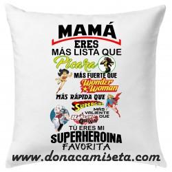 Cojin Mamá mi Superheroina Favorita