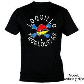 Camiseta Loquillo y los Trogloditas