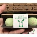 Kit 2 Bombas de Biodiversidad Jardín Mediterráneo Semillas