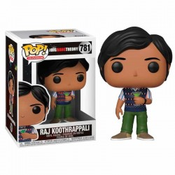 Figura Pop The Big Bang Theory Raj Koothrappali 781
