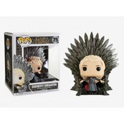 Figura POP Game of Thrones Jon Snow 72 en el trono 15cm