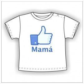 Camiseta MC Bebé Me Gusta Mamá