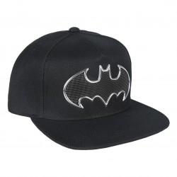 Gorra Batman logo bordado visera plana premium