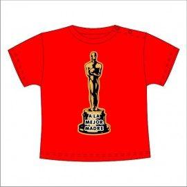 Camiseta MC Bebé Oscar a la mejor madre