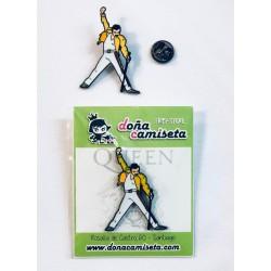 Pin Queen Freddie Mercury
