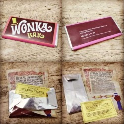Chocolatina Friki Wonka Bar