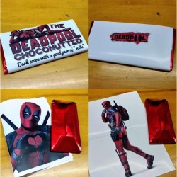 Chocolatina Friki Deadpool Choconutted (Especial)