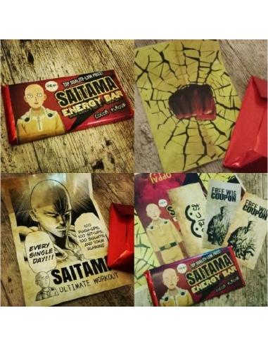 Chocolatina Friki Saitama Energy Bar