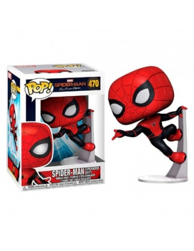 Figura Pop Spider-Man Misterio 473 Marvel