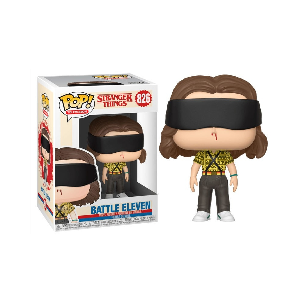 Figura Pop Stranger Things  Dustin 804 Camp Know Where