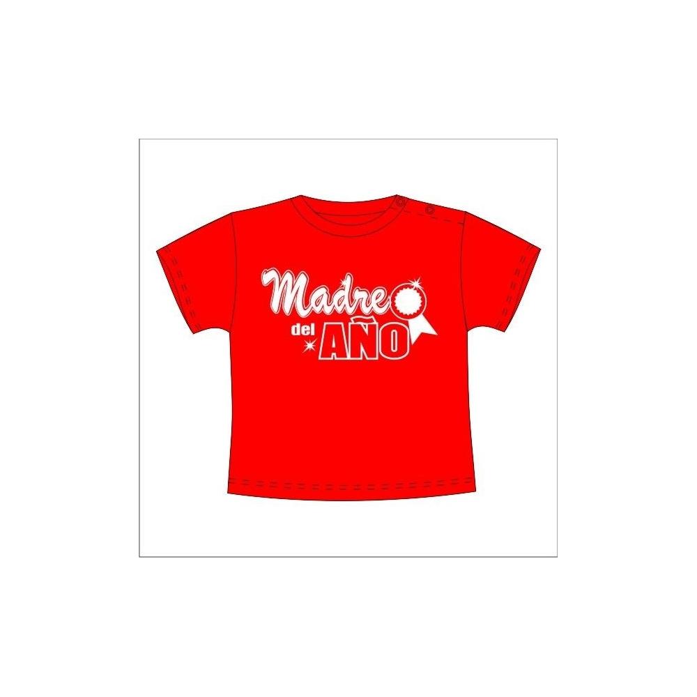 Camiseta MC Bebé Madre del año