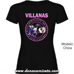 Camiseta Villanas Disney
