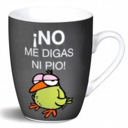 Taza No me digas ni pio de porcelana 10 cm NICI