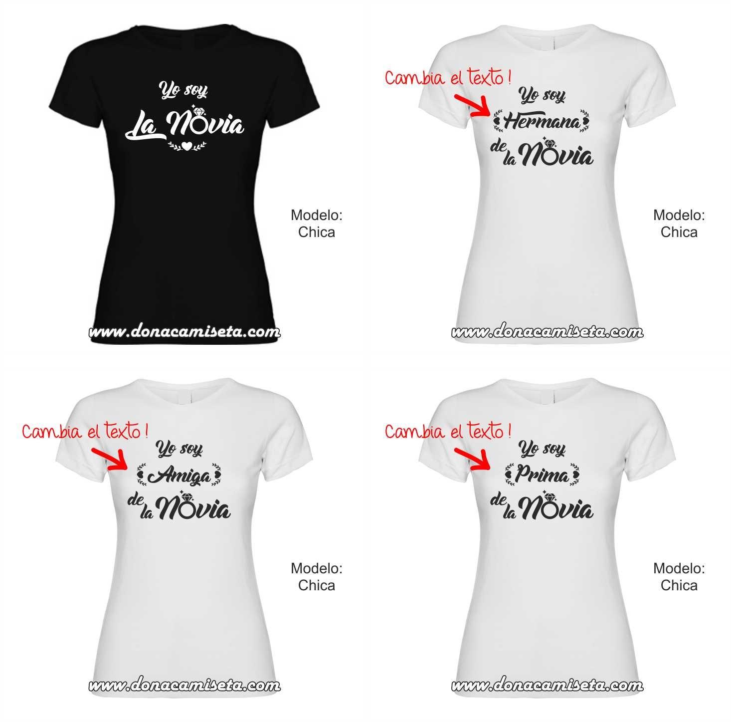 Camiseta Yo Soy La Amiga De La Novia