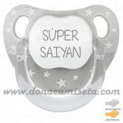 Chupete baby Estrellas Súper Saiyan
