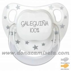 Chupete baby Estrellas Galeguiña 100%