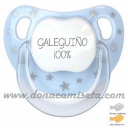 Chupete baby Estrellas Galeguiño 100%