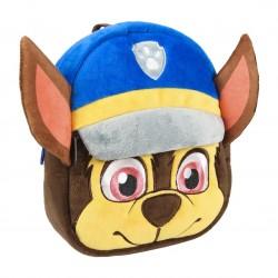 Mochila Chase Paw Patrol 3D Infantil peluche