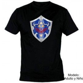 Camiseta MC Zelda Escudo color