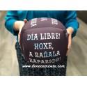 Cojin antiestrés Dado tareas (Galego)